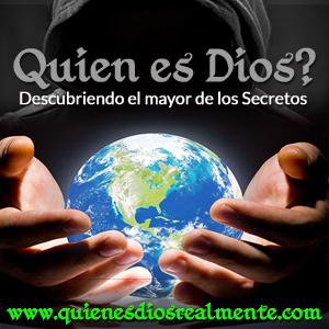 Quien es Dios?