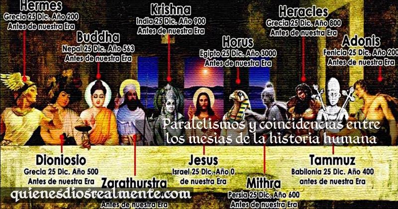 Todos los Cristos de la historia