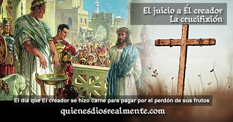 la crucifixion de jesus